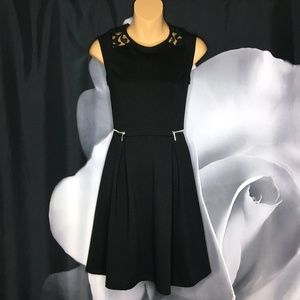 Mossimo Zipper and Lace Detail Dress